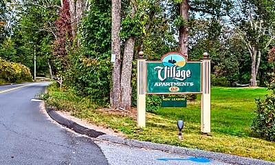 Community Signage, Village Apartments, 2