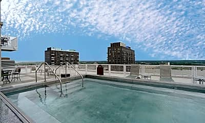 Pool, Marquette Apartments, 0