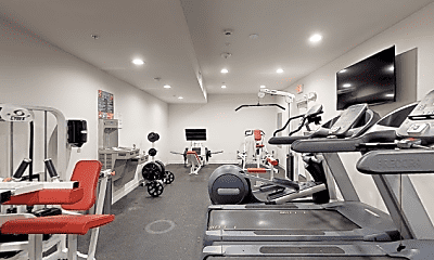 Fitness Weight Room, 6333 Woodman Ave, 2