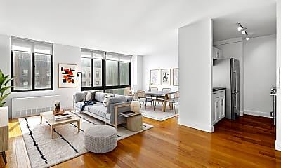 Living Room, 290 3rd Ave 23D, 0