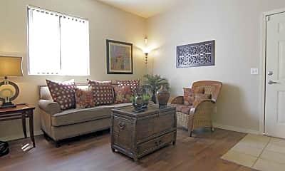Living Room, Ridgegate Apartments, 1