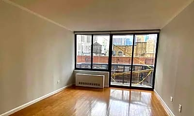 Living Room, 235 W 48th St 19-J, 0