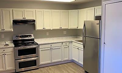 Kitchen, Willow Ridge Apartments, 2