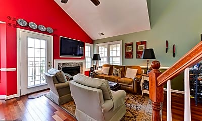 Living Room, 2330 14th St N 402, 1