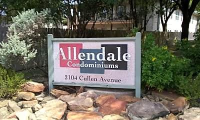 Allendale Condominiums, 1
