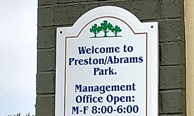 Abrams Park Apartments, 1