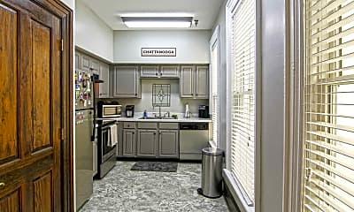 Kitchen, Fitzgerald Apartments, 1