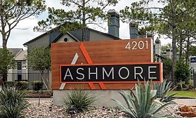 Community Signage, Ashmore Apartments, 2
