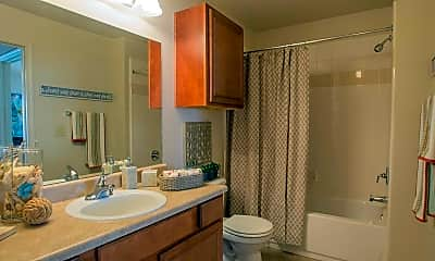 Bathroom, Villas at Preston Lakes, 2