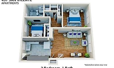 Patio / Deck, 437 San Vicente Blvd, 2