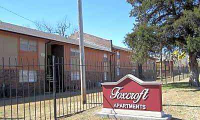 Community Signage, Foxcroft Apartments, 2