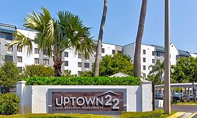 Community Signage, Uptown 22, 2