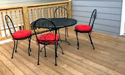 Patio / Deck, 1518 Kirby Ave, 2