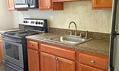 Kitchen, Shirley Court Apartments, 0
