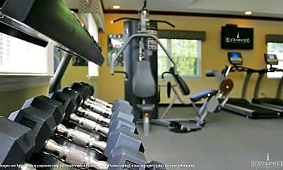 Fitness Weight Room, Tall Oaks Country Club Apartments, 2