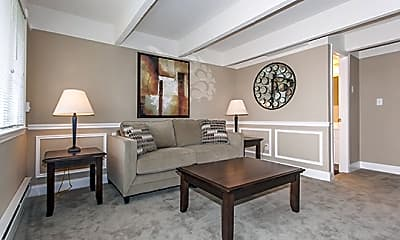 Living Room, Mariners Cove Apartment Homes, 1