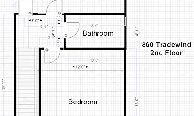 Building, 848 Tradewind Dr, 2