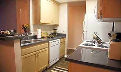 Kitchen, Encino Crest, 2