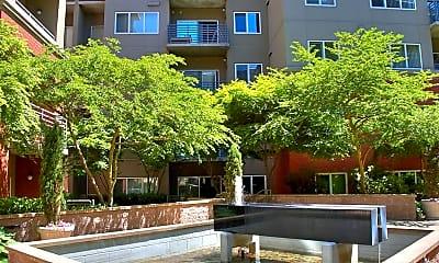 Courtyard, AMLI Bellevue Park, 0