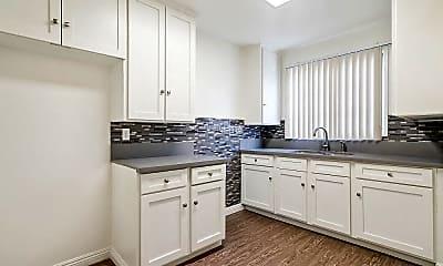 Kitchen, Santa Rosalia Apartments, 1
