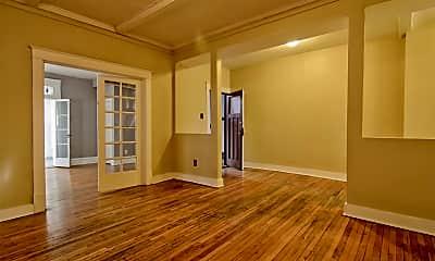 Living Room, 3842 De Tonty St, 1