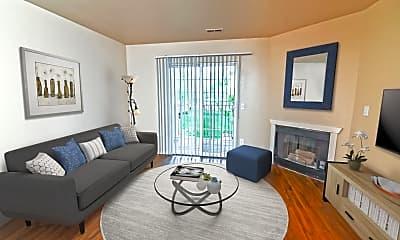 Living Room, Cherry Lane Apartments, 0