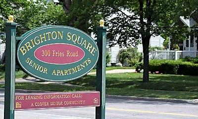Community Signage, Brighton Square Senior Apartments, 2