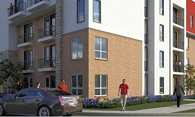 Building, Post Oak Apartments, 0