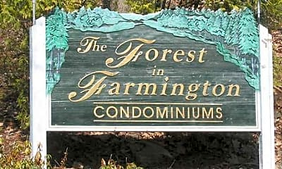 Community Signage, Forest In Farmington, 0