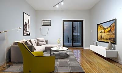 Living Room, 58 Monroe St 1R, 0