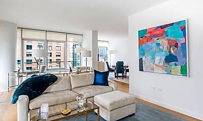 Living Room, 310 E 53rd St, 1