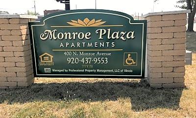 Monroe Plaza Apartments, 1