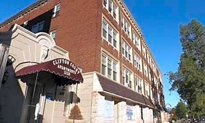 Building, Clifton Court Apartments, 1
