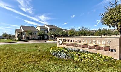 Community Signage, Encore Alsbury, 2