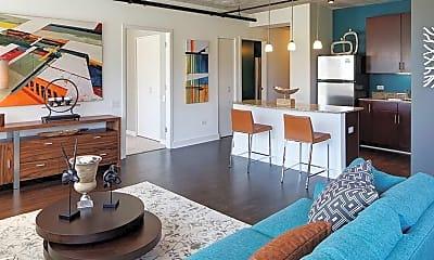 Living Room, 914 S Clark St, 1