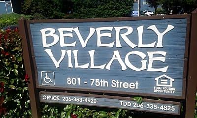 Beverly Village, 1