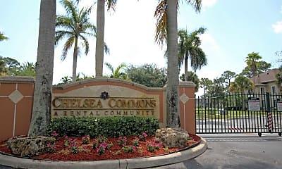Community Signage, Chelsea Commons, 2
