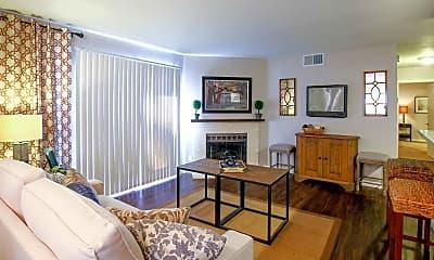 Living Room, Margarita Summit Apartments, 1