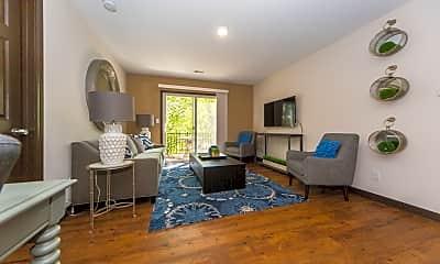 Living Room, Kitty Hawk Manor, 1