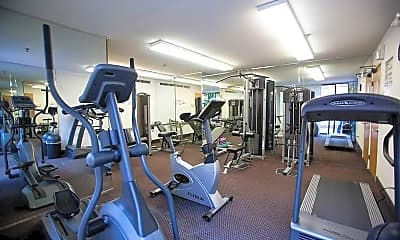 Fitness Weight Room, Market Street Square, 2