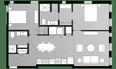 Living Room, 2900 N Oakland Ave, 1