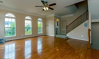 Living Room, 25 Curving Branch Way, 1
