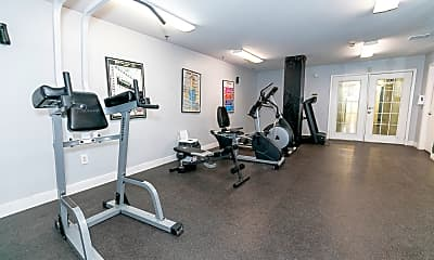 Fitness Weight Room, Homes of Parker Commons, 2