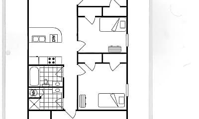 Bedroom, 515 Grant St, 2