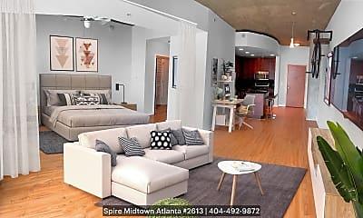 Living Room, 860 Peachtree St. NE, #2613, 0