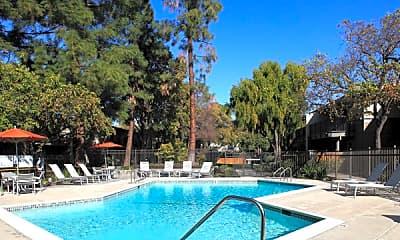 Pool, Heatherstone Apartments, 1