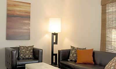 Living Room, Willow Park Apartments, 1