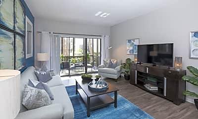 Living Room, Enclave at Lake Ellenor, 1