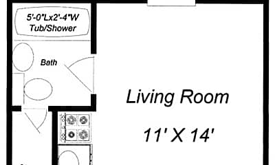 Building, 32 W Wheelock St, 1