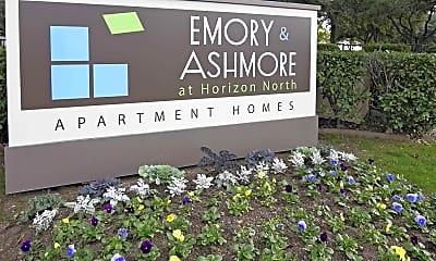 Community Signage, The Emory at Horizon North, 2